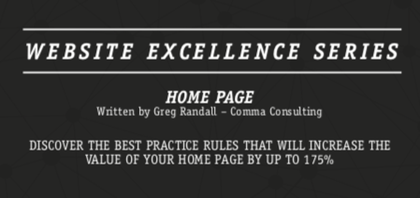 "Read More about Greg Randall's new book, ""Homepage Best Practice"" is published"