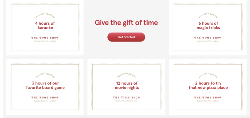 "Read More about Chick-fil-a, a USA fast-food chain, is offering ""Gifts of time"""